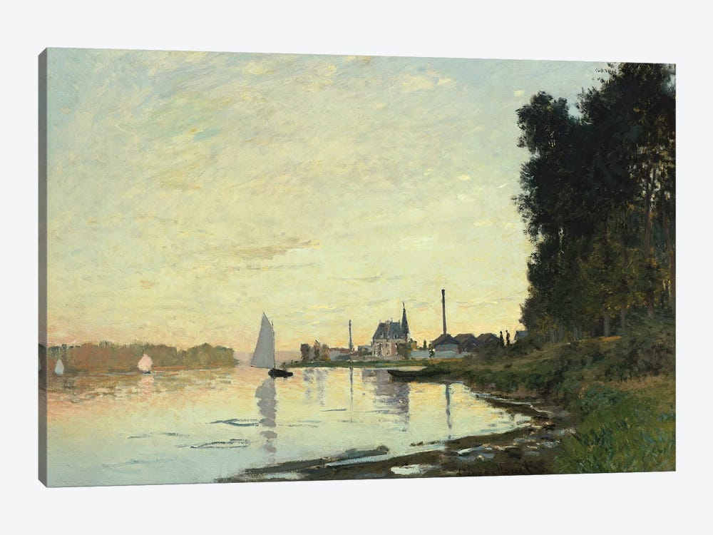 Argenteuil, Late Afternoon, 1872  by Claude Monet 1-piece Canvas Artwork