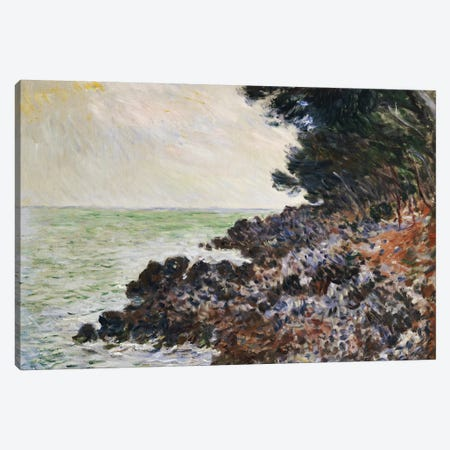 Cap Martin  Canvas Print #BMN5162} by Claude Monet Canvas Wall Art