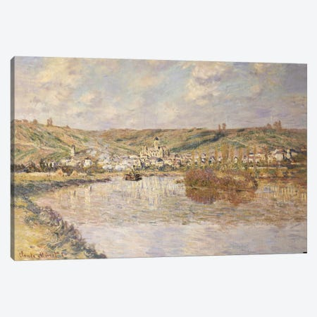 End of the Afternoon, Vetheuil  Canvas Print #BMN5167} by Claude Monet Canvas Art Print