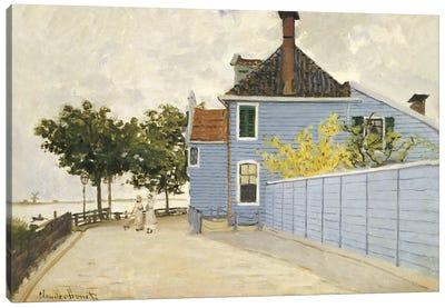 The Blue House, Zaandam  Canvas Print #BMN5173