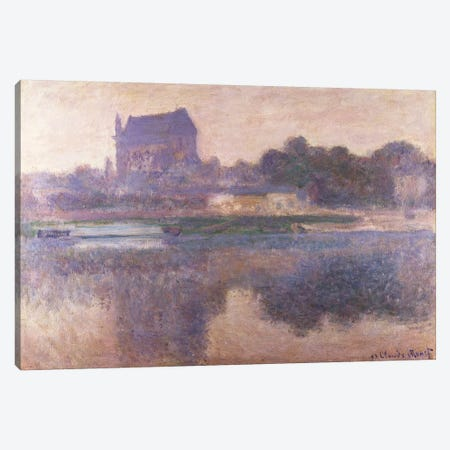 Vernon Church in Fog, 1893  Canvas Print #BMN5175} by Claude Monet Canvas Art