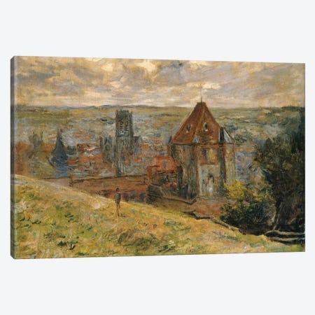 Dieppe, 1882  Canvas Print #BMN5177} by Claude Monet Canvas Art