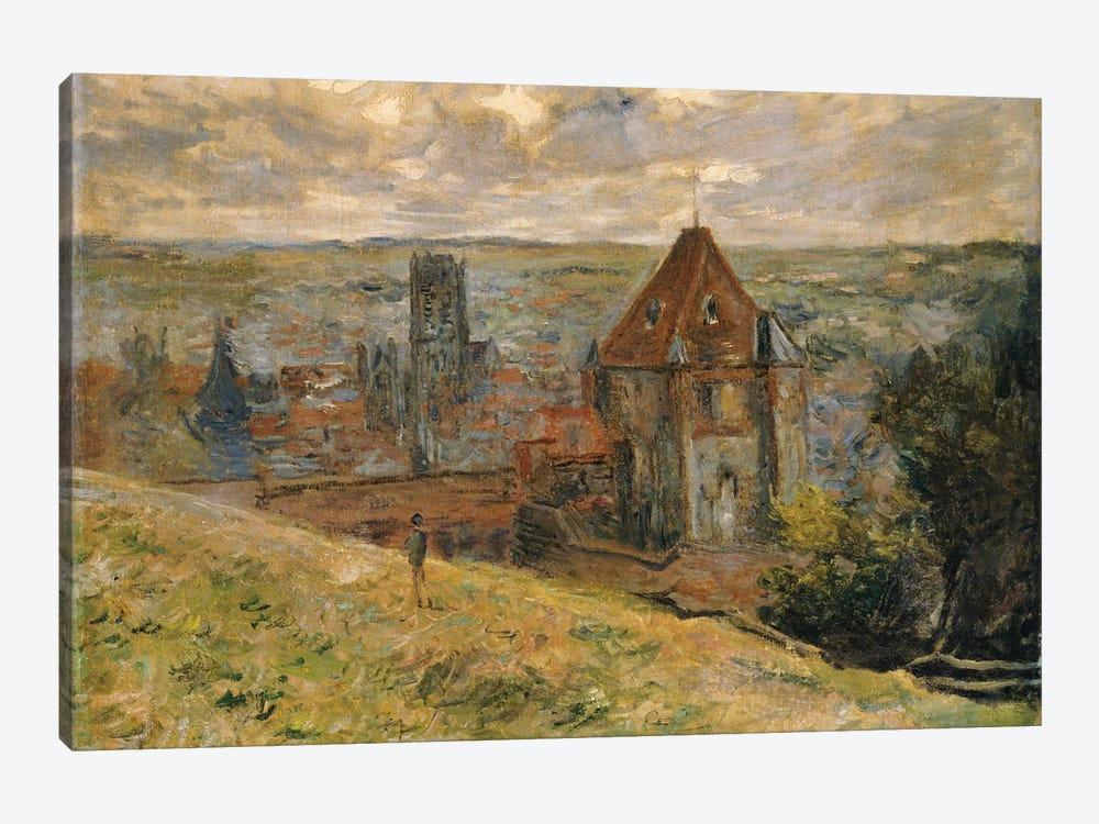Dieppe, 1882  by Claude Monet 1-piece Canvas Art