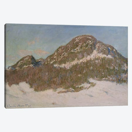 Mount Kolsaas in Sunlight, 1895  Canvas Print #BMN5179} by Claude Monet Canvas Art Print