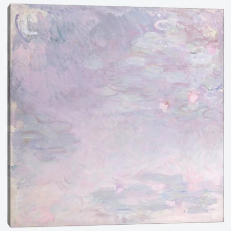 Pale Water Lilies, c.1917-25  Canvas Print #BMN5182} by Claude Monet Canvas Art