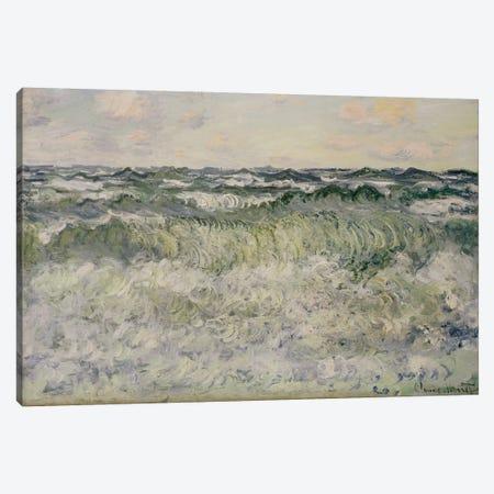 Seascape, 1881  Canvas Print #BMN5184} by Claude Monet Canvas Art Print