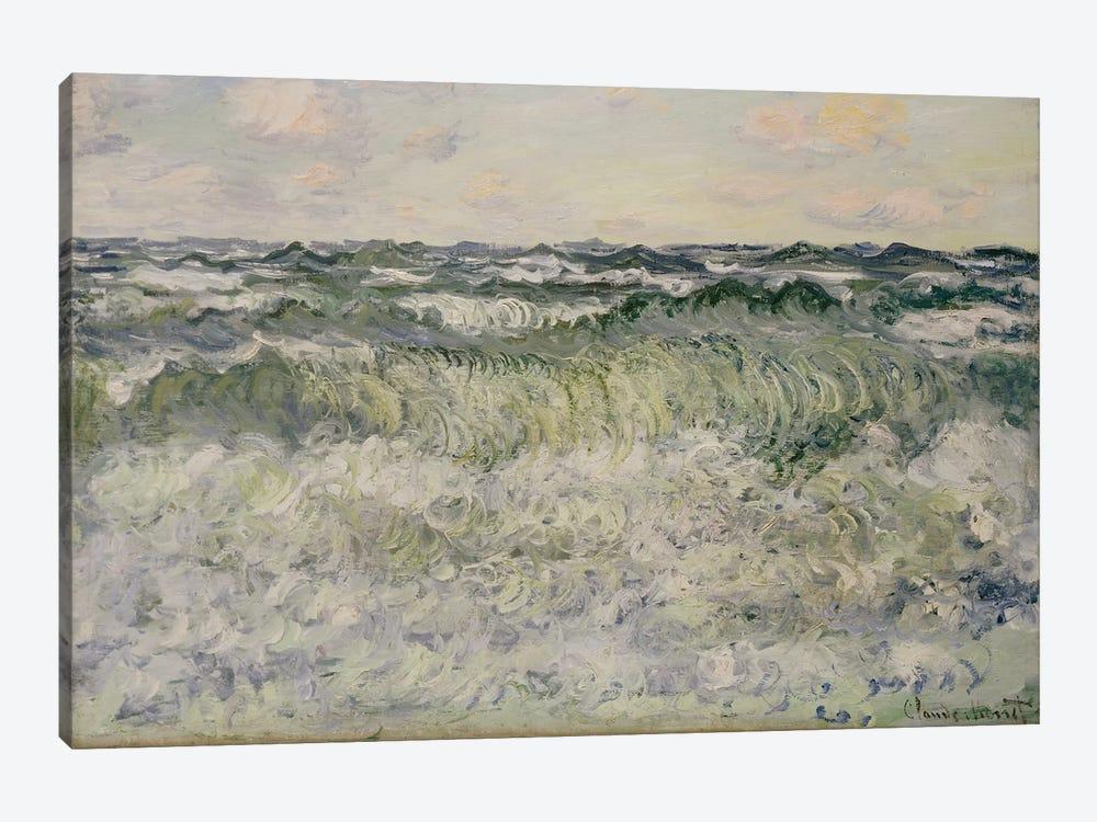 Seascape, 1881  by Claude Monet 1-piece Canvas Wall Art