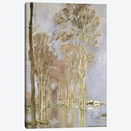 Flood  3-Piece Canvas #BMN5185} by Claude Monet Art Print