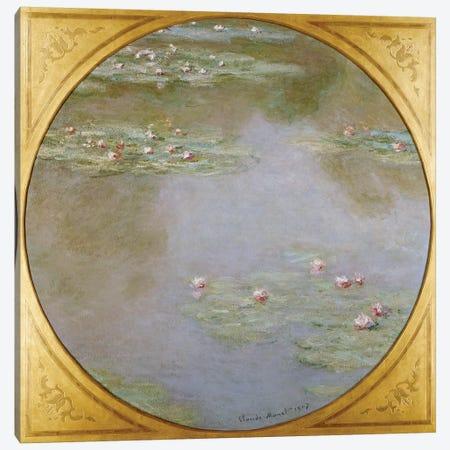 Water Lilies  Canvas Print #BMN5187} by Claude Monet Canvas Print