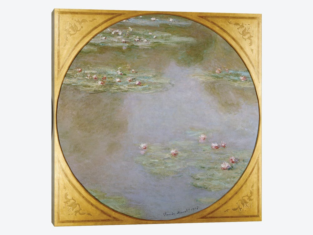 Water Lilies  by Claude Monet 1-piece Canvas Art Print