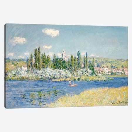 Vetheuil, 1880  Canvas Print #BMN5189} by Claude Monet Canvas Wall Art