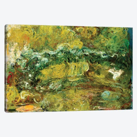 The Japanese Bridge, c.1918-24  Canvas Print #BMN5190} by Claude Monet Art Print