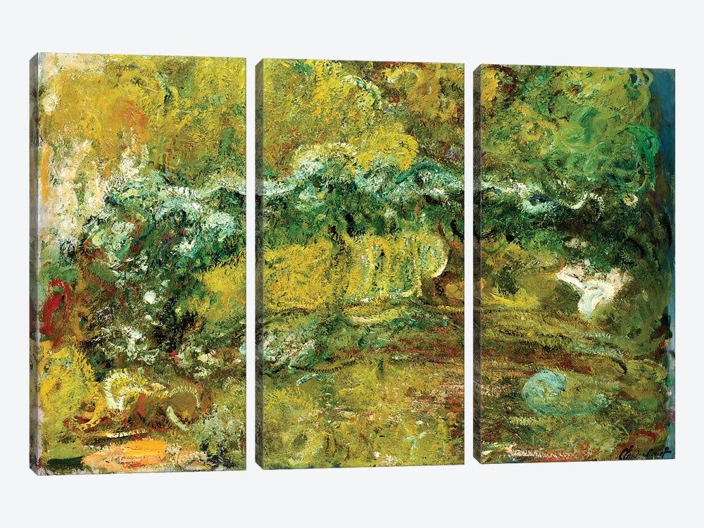 The Japanese Bridge, c.1918-24  by Claude Monet 3-piece Art Print