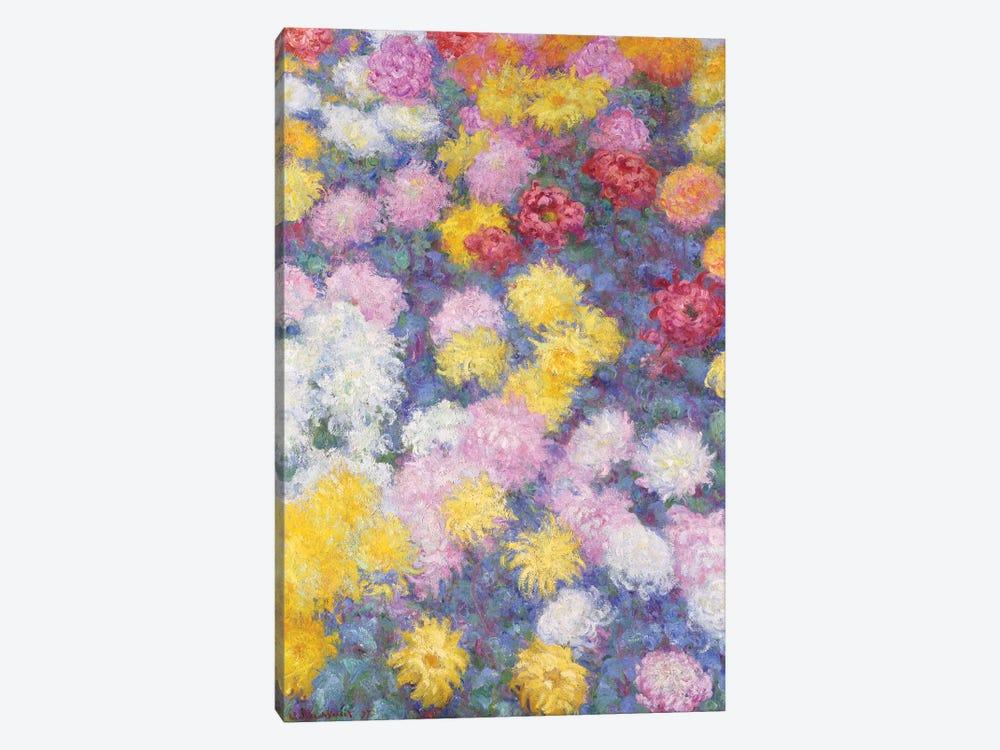 Chrysanthemums, 1897  by Claude Monet 1-piece Art Print