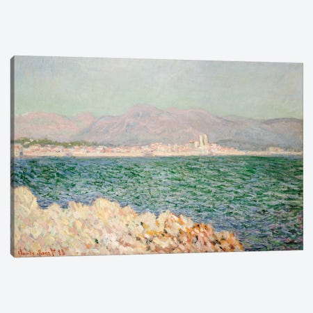 Gulf of Antibes, 1888  Canvas Print #BMN5202} by Claude Monet Canvas Art Print
