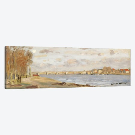 The Seine at Argenteuil, 1872  Canvas Print #BMN5203} by Claude Monet Canvas Print