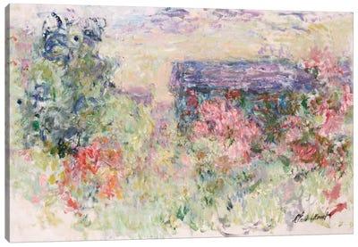 The House Through the Roses, c.1925-26  Canvas Print #BMN5204