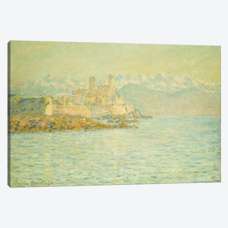 The Old Fort at Antibes  Canvas Print #BMN5206} by Claude Monet Canvas Art