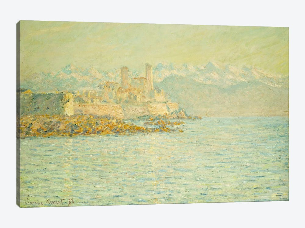 The Old Fort at Antibes  by Claude Monet 1-piece Canvas Wall Art