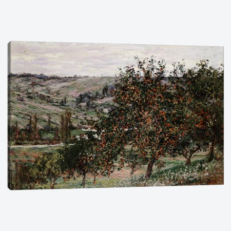 Apple Trees near Vetheuil  Canvas Print #BMN5214} by Claude Monet Canvas Art Print