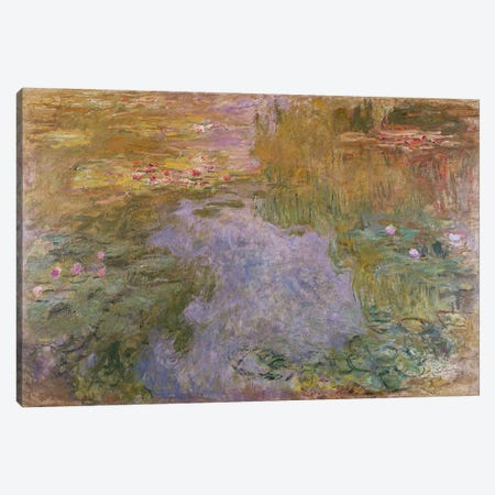 Water Lilies, 1919  Canvas Print #BMN5215} by Claude Monet Canvas Art Print
