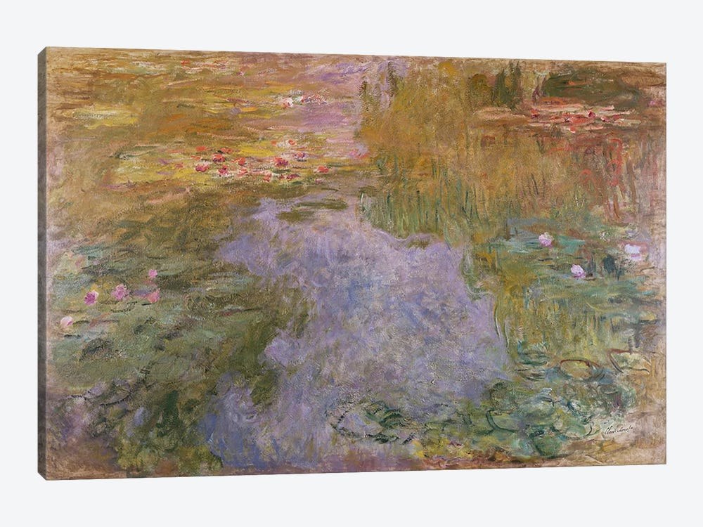 Water Lilies, 1919  by Claude Monet 1-piece Canvas Artwork