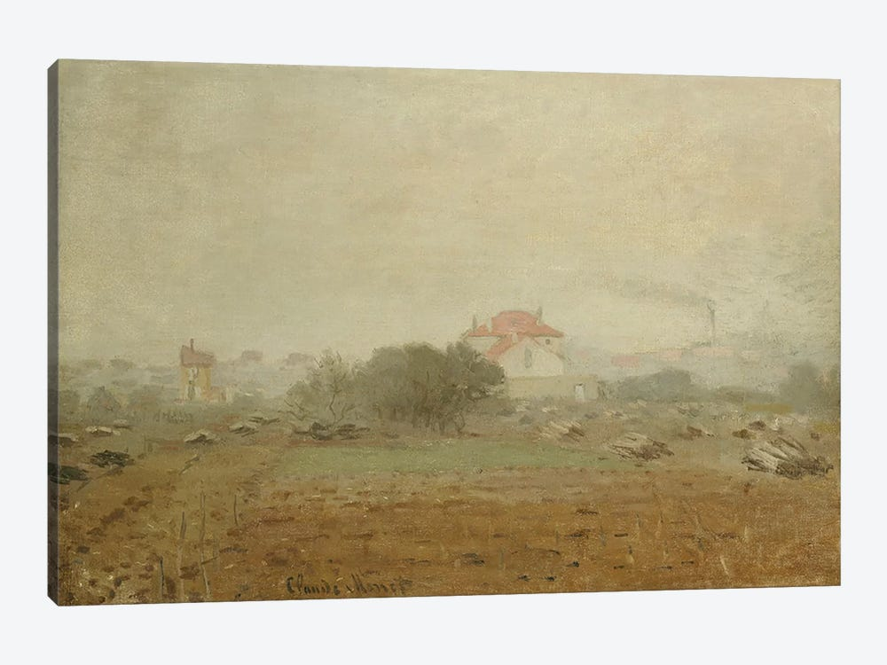 Fog, 1872  by Claude Monet 1-piece Canvas Print
