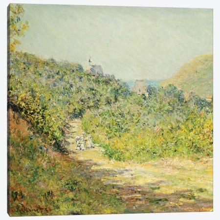 Aux Petites Dalles, 1884  Canvas Print #BMN5222} by Claude Monet Canvas Print