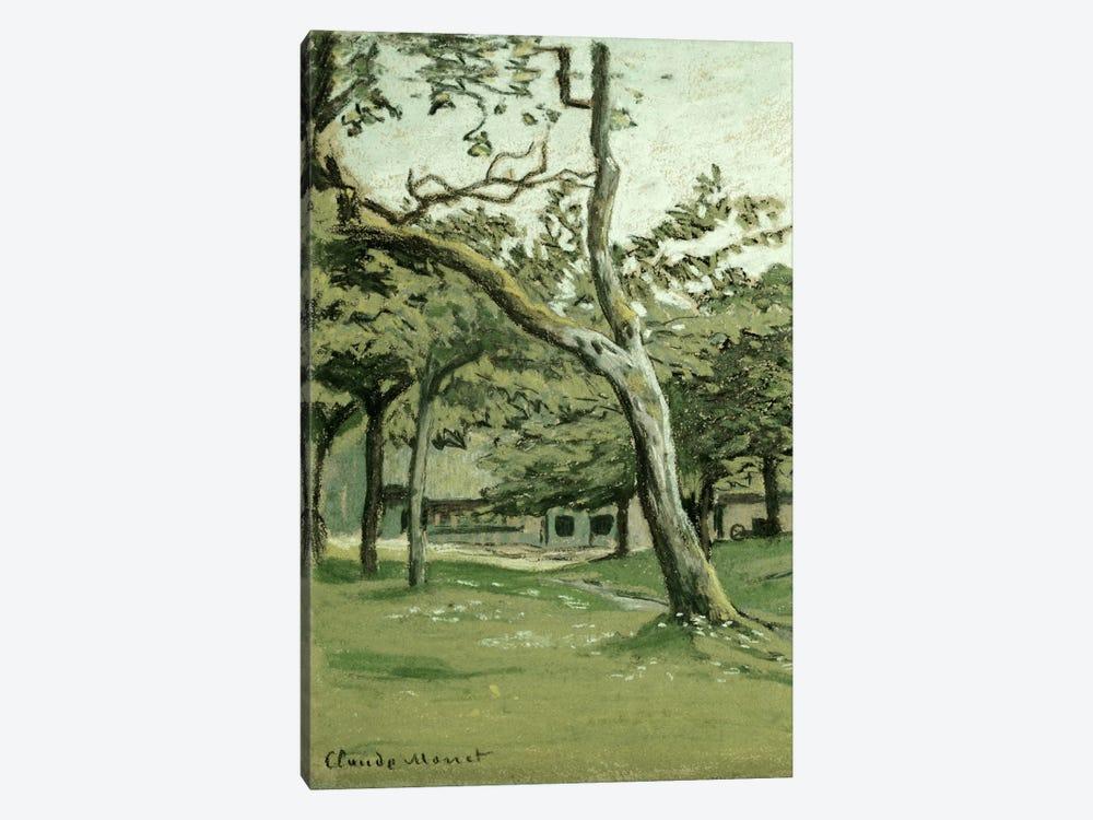 Normandy Farm under the Trees  by Claude Monet 1-piece Art Print