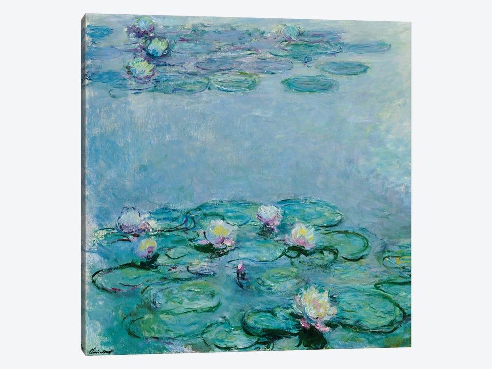 Water Lilies  by Claude Monet 1-piece Canvas Artwork