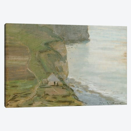 Cap d'Antifer, Etretat  Canvas Print #BMN5229} by Claude Monet Canvas Art Print