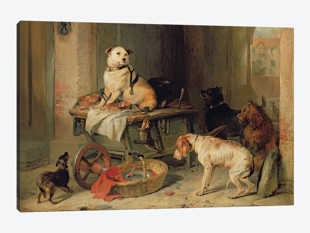 A Jack in Office, c.1833 by Sir Edwin Landseer 1-piece Canvas Print