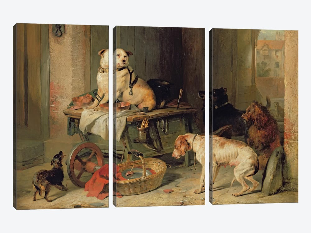 A Jack in Office, c.1833 by Sir Edwin Landseer 3-piece Canvas Print