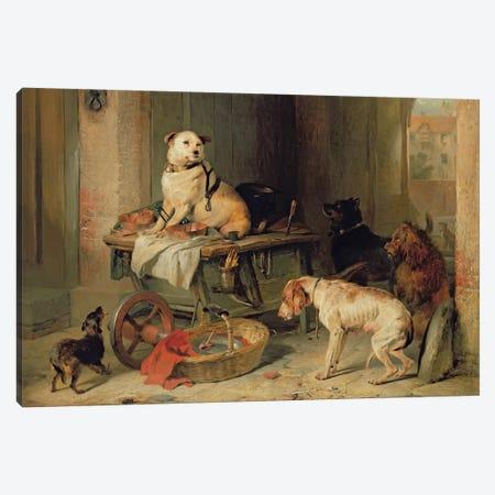 A Jack in Office, c.1833  Canvas Print #BMN522} by Sir Edwin Landseer Canvas Print