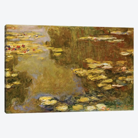 The Lily Pond  Canvas Print #BMN5232} by Claude Monet Canvas Art