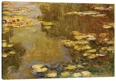 The Lily Pond  Canvas Art Print