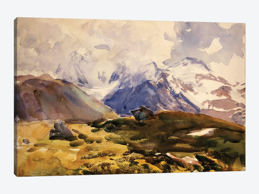 The Simplon, c.1910  by John Singer Sargent 1-piece Canvas Wall Art