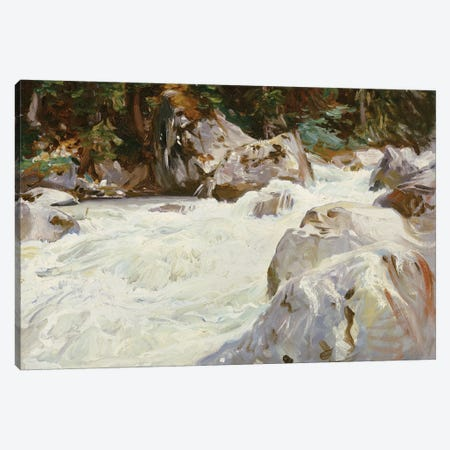 A Torrent in Norway, 1901  Canvas Print #BMN5234} by John Singer Sargent Canvas Art Print