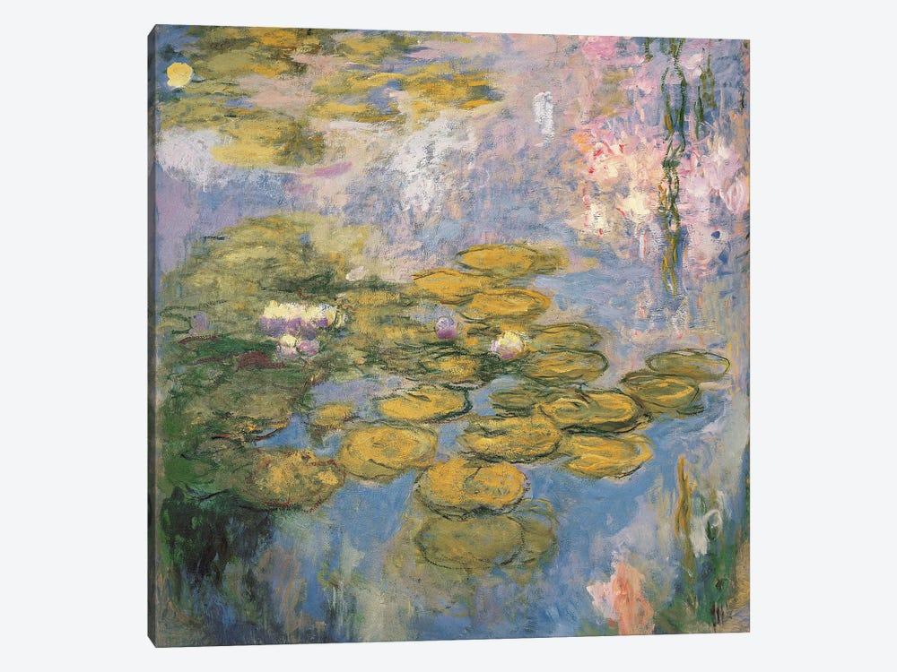 Nymphéas, 1916-19  by Claude Monet 1-piece Art Print