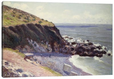 Lady's Cove, Langland Bay, 1897  Canvas Art Print