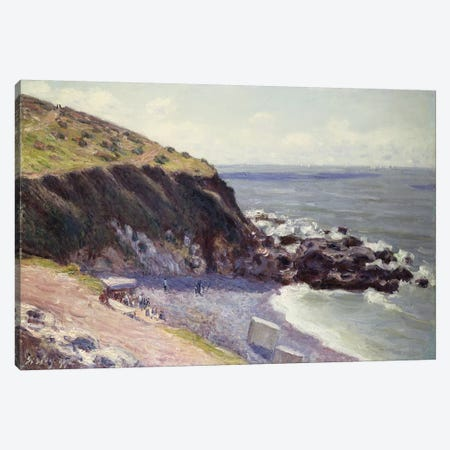 Lady's Cove, Langland Bay, 1897  Canvas Print #BMN5249} by Alfred Sisley Art Print