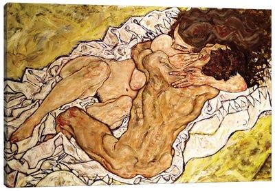 The Embrace, 1917 Canvas Art Print