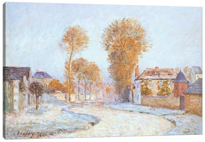First Frost, 1876  Canvas Art Print