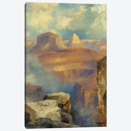 Grand Canyon, 1916  Canvas Print #BMN5254} by Thomas Moran Canvas Art Print