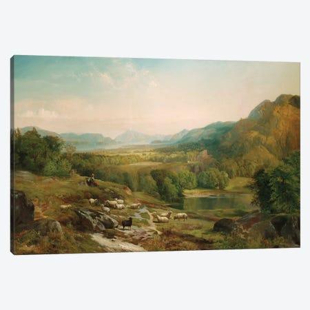 Minding the Flock, c.1867  Canvas Print #BMN5256} by Thomas Moran Art Print