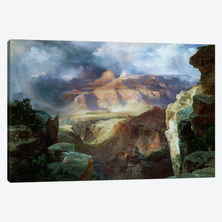 A Miracle of Nature  Canvas Print #BMN5257} by Thomas Moran Canvas Print