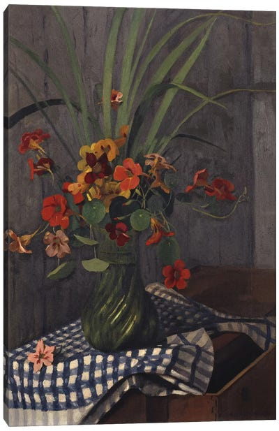 Nasturtiums, 1920 Canvas Art Print
