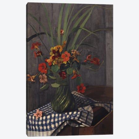 Nasturtiums, 1920  Canvas Print #BMN5269} by Felix Edouard Vallotton Art Print