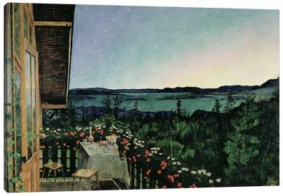 Summer Night, 1899 Canvas Art Print