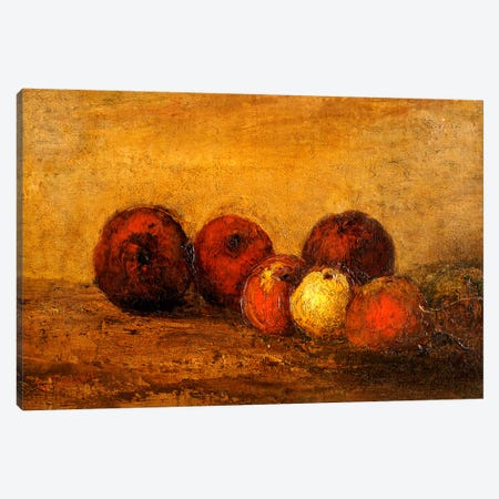 Apples  Canvas Print #BMN5273} by Gustave Courbet Canvas Artwork